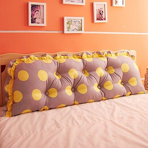 uus Big Bedhead Kissen Soft & Bequeme Rückenlehne Schöne Home Decoration Square Pattern Wasit Care Muti-nützliche Kissen 150 * 53cm ( Farbe : I )