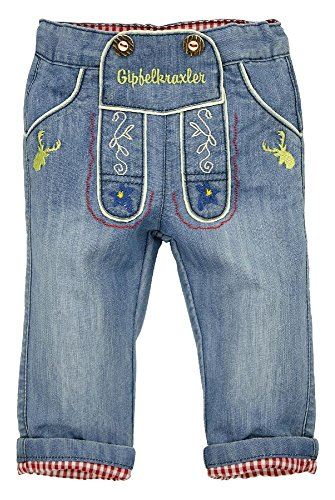 BONDI Jeans ´Gipfelkraxler´, jeans 68 Tracht Baby Jungs Artikel-Nr.90718