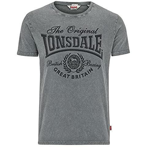 Lonsdale T-Shirt Wendover, Farbe:dirty washed;Größe:M