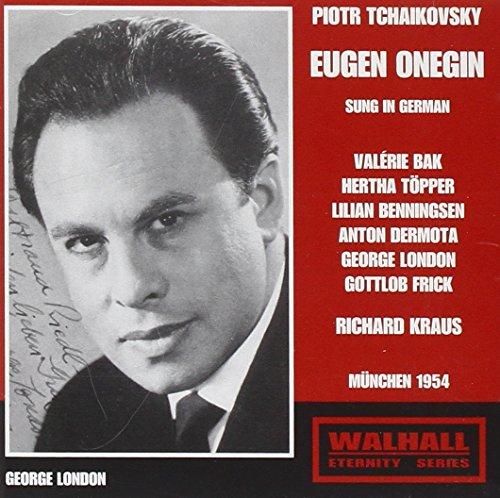 Eugen Oneguine - R. Kraus, 1954