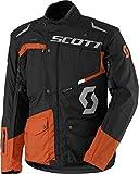 Scott Dualraid DP Motorrad Jacke schwarz/orange 2018: Größe: L (50/52)