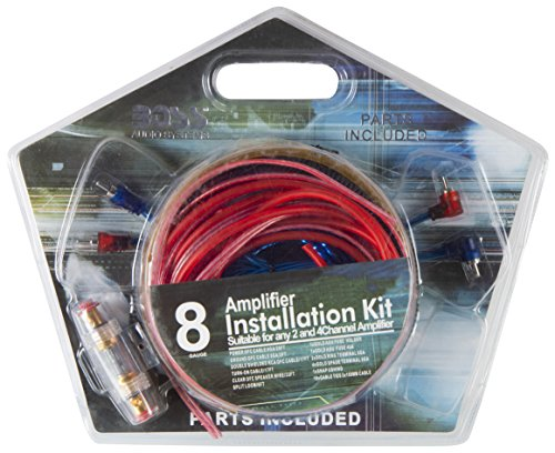 Cave Amplifier Installation Kit (Black, Cave84)
