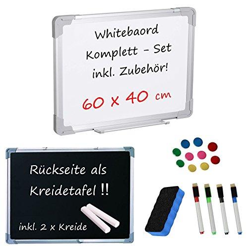 whiteboard-blackboard-kreidetafel-o-kompettset-o-inklusive-zubehor-60-cm-x-40-cm