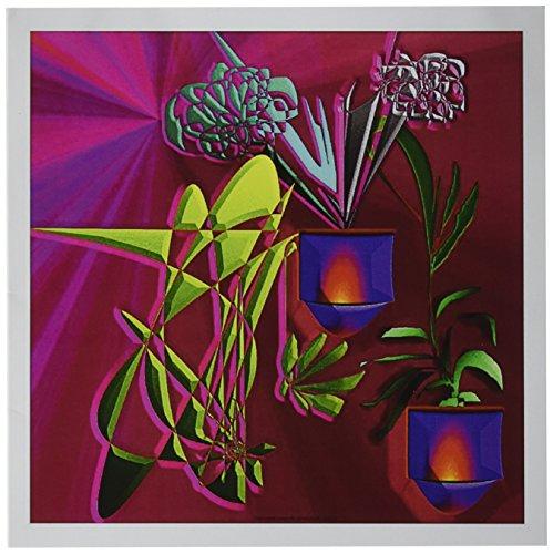 3drose Grußkarten, 15,2x 15,2cm, 6Stück, die Farben Bold und Bright (GC 54919_ 1)