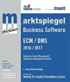 Marktspiegel Business Software: ECM / DMS 2016 / 2017: Enterprise Content Management / Dokumenten Management Systeme