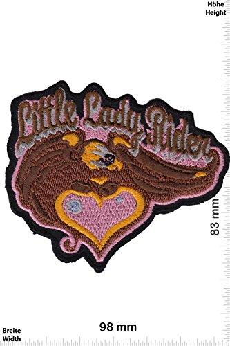 Patch - Little Lady Rider - Baby Biker - - Biker - Rocker - Chopper - Weste - Patches - Aufnäher Embleme Bügelbild Aufbügler