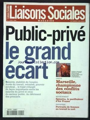 LIAISONS SOCIALES MAGAZINE [No 1] du 01/04/1999
