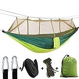 UICICI Carabineros Ligeros Que acampan de la Hamaca Que acampan para el Backpacking, acampando, yendo de excursión, Recorrido, Playa (Color : Green)