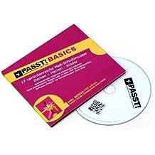 PASST! BASICS Schnittmuster nach Maß - CD mit 17 Basis-Schnittmustern und Software