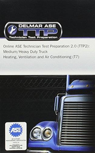 Price comparison product image Online ASE Technician Test Preparation - Heating,  Ventilation and Air Conditioning (T7) Printed Access Card