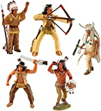 Bullyland Indiens Set 5 Figurines
