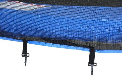 Imagen 2 de SixBros. Sport – XXL 4,00m diám. Professional Trampolín de jardín – T400 13FT | escalera | red de seguridad | lluvia cobertura | Modelo 2013