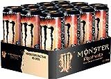 Monster Energy Rehab Peach Energy Drink mit Teeextrakten & Pfirsichgeschmack, 12er Pack, EINWEG (12 x 500 ml)