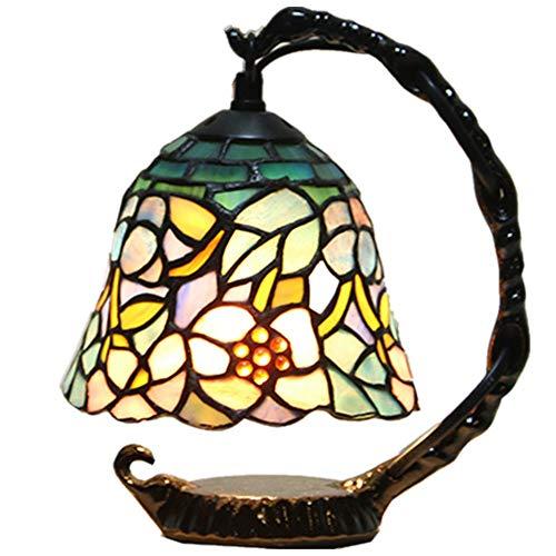 Tischlampe XINGUANG Tiffanys Augenschutz-Nachttischlampen Nachtlicht Studio LED dekorative Beleuchtung (größe : Dimmschalter)