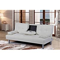 Sleep Design Manhattan Sofa Bed - White