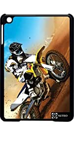 Coque Ipad Mini – Moto Cross dans le désert - ref 22