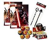 Irpot presenta : un bellissimo kit regalo per feste compleanno bambino a tema Star Wars ! All'interno trovare simpatici ed originali gadget da fornire ai bambini come ricordino da portare a casa. Gli articoli arriveranno singolarmente,sarà vo...