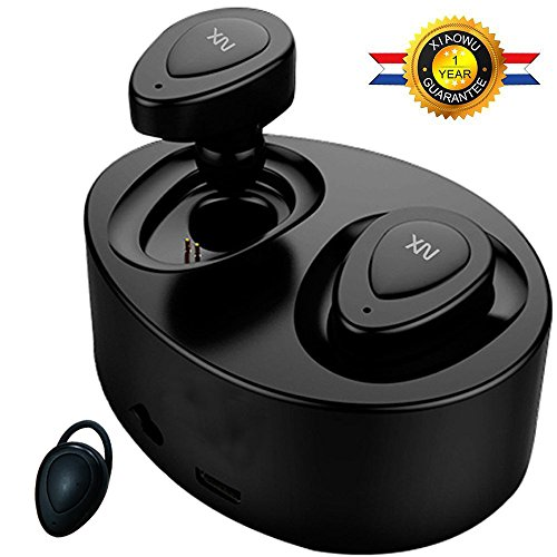 Auriculares Bluetooth, XIAOWU Auriculares inalámbricos Bluetooth V4.1 Dual con Micrófono incorporado y...