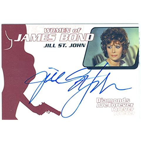 James Bond Donna in movimento per autografi WA1 Jill St John