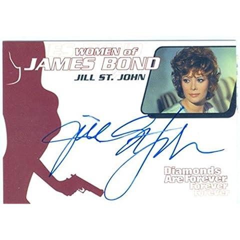 James Bond Donna in movimento per autografi WA1Jill St John