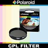 Polaroid Optics CPL Runder Polarisationsfilter für die Nikon D40, D40x, D50, D60, D70, D80, D90, D100, D200, D300, D3, D3S, D700, D3000, D5000, D3100, D3200, D7000, D5100, D4, D800, D800E, D600 Digitale SLR Kameras Which Have Any Of These (18-55mm, 55-200mm, 50mm, 40mm, 28mm) Nikon Lenses