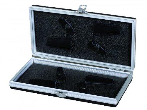 En Aluminium Étui pour ciseaux Black Large