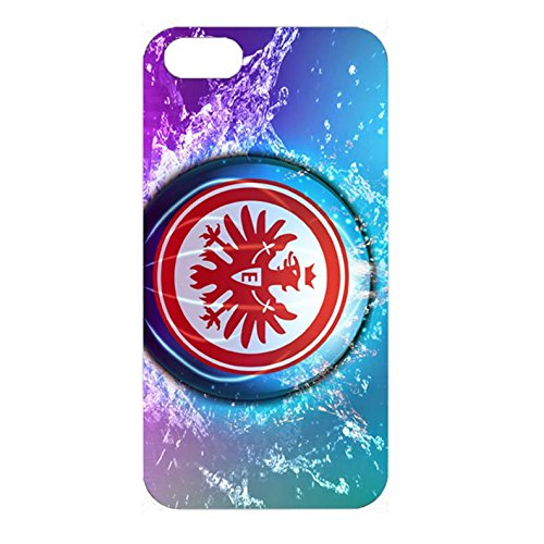 Eintracht Frankfurt Phone Case Colorful with Bundesliga Logo Case 3D Protrctor for Iphone 4/4s Color-00368
