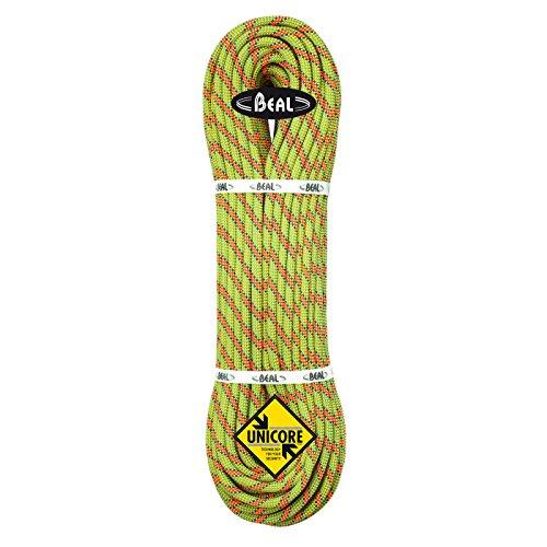 BEAL C097.70 - Cuerda específica de escalada (9,7 mm, dinámico), color verde fosforescente (anis), talla FR: 9,7 mm x 70 m