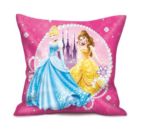 Easy Licences Kissen, Motiv Disney-Prinzessinnen, 35cm, mehrfarbig (Disney Prinzessin Kissen)