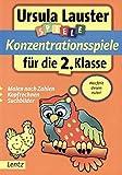 Konzentrationsspiele für die 2. Klasse (Ursula Lauster Lernspiele)