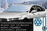 GYD Uni Eisschutzfolie für KFZ Frontscheibenabdeckung Front 190 x 68 cm.