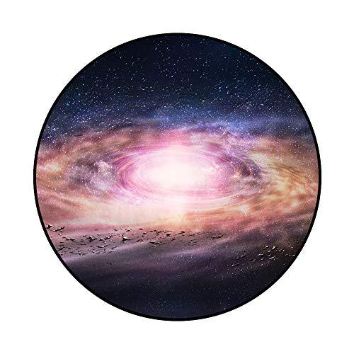 Blau Seite Universe Galaxy Nebula Sky Sterne Custom Bereich Teppich, Polyester Leicht Moderne Boden Matte rutschfest für den Innen Outdoor Decor Soft Teppich für Schlafzimmer Living Esszimmer 160cm