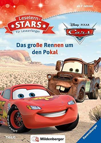 Disney · PIXAR - Cars: Das große Rennen um den Pokal: Comic- und Filmhelden-Geschichten für Leseanfänger (Leselernstars / Comic- und Filmhelden-Geschichten für Leseanfänger)