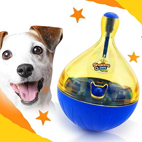 K&C Haustier Hund Festlichkeit langsame Zufuhr Kugel interaktives IQ zahnmedizinisches Festlichkeit Spielzeug für Hundetraining groß Hund Ausgestopfte Tiere Spielzeug