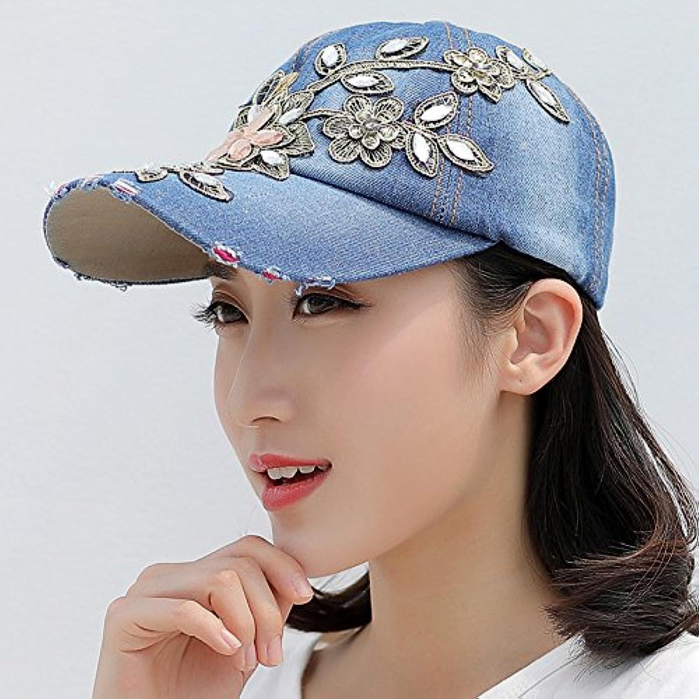 donna UPF 50 Il cappello da femminile cowboy moda femminile da marea estate  berretto da baseball 33a665e58c62