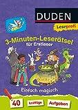 Leseprofi - 3-Minuten-Leserätsel für Erstleser: Einfach magisch: 40 knifflige Aufgaben