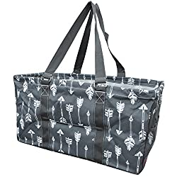 Gray Arrow Print Ngil Utility Tote Shopping Bag