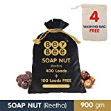 #3: Bey Bee 100% Organic Multipurpose Reetha for Hair Growth | Soap Nuts for Laundry | (900 Gms)