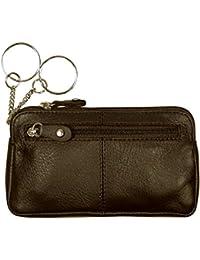 "Schlüsseletui, ""BIG KEY"", 105890 001, Damen und Herren Schlüsseletui, Leder, braun"