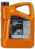 ROWE Hightec Super Leichtlauf 10W-40 HC-O - 5 Liter PKW Motoröl, vollsynthetisch (HC-Synthese) | Made in Germany