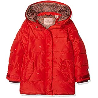 Scotch & Soda R´Belle Mädchen Jacke Padded Jaquard with Double Hood Construction, Rosa (Poppy 1946), 128