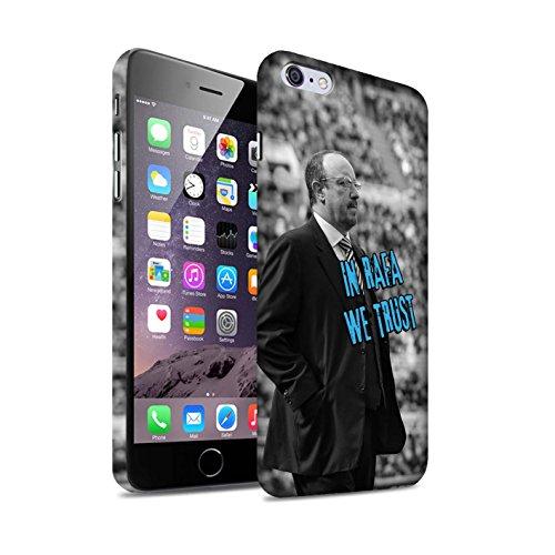 Offiziell Newcastle United FC Hülle / Matte Snap-On Case für Apple iPhone 6S+/Plus / Spanisch Maestro Muster / NUFC Rafa Benítez Kollektion Wir Vertrauen