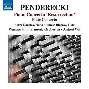 Penderecki: Piano Concerto | Flute Concerto (Barry Douglas, Lukas Dlugosz, Antoni Wit) (Naxos: 8.572696)