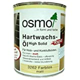OSMO 3262C Polyx Hartwachsöl Rapid, farblos, matt, 0,75Liter