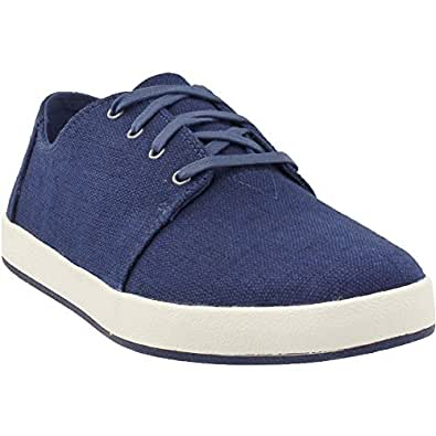 2141dff5fa1 TOMS Men s Payton Denim Chambray Sneaker Navy Heritage Canvas 10 D(M) US