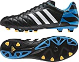 adidas  11nova FG,  Herren Fußballschuhe  - Noir/Bleu 6.0 UK - 39 1/3 EU