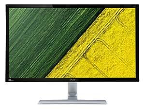 Acer RT280K 71 cm (28 Zoll UHD) Monitor (DVI, HDMI, DisplayPort, 1ms Reaktionszeit, Ultra HD Auflösung, 3840 x 2160, EEK B) Schwarz