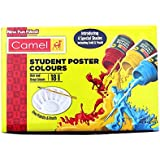 Camel Student's Poster Colour Set - 18 Shades (Multicolor)