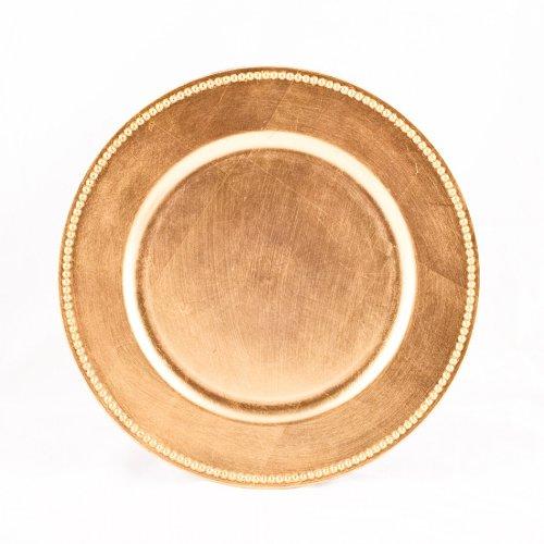 �t Teller, gold (4Stück) (Hochzeit Tablescapes)
