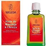 WELEDA - Huile de massage à l'arnica - Flacon en verre- (pour la quantité plus que 1 nous vous remboursons le port supplémentaire)